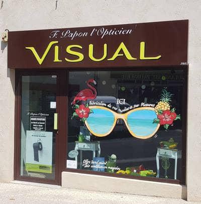 Vitrine Optique Grand rue